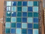 Mattonelle di mosaico di ceramica della piscina della crepa del ghiaccio dei 2017 azzurri