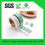 La cinta aguada modificada para requisitos particulares de la impresión para adorna