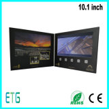 5.0 인치 LCD 스크린 주문을 받아서 만들어진 인쇄를 가진 영상 인사장