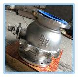 Le DIN a bridé corps pneumatique du robinet à tournant sphérique Pn16 2PC