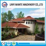 tuiles de toit enduites en métal de sable de feuille de Galvalume de 0.4-0.6mm