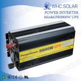 Powerboom 3000W de l'onduleur onduleur d'énergie solaire avec chargeur