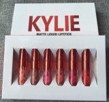 Kylie 발렌타인 2017 새로운 입술 광택 립스틱 6colors 한 벌