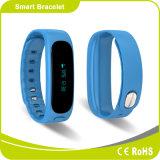 A alta qualidade da monitoração da qualidade do sono ostenta o bracelete esperto de Bluetooth da aptidão