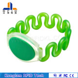 Portable impermeabilizar el Wristband plástico modificado para requisitos particulares de RFID para el masaje del baño