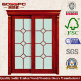 Portello europeo della sala da pranzo di vetro glassato (GSP3-023)