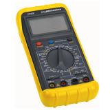 역광선을%s 가진 3 1/2 노란 색깔 디지털 전기 멀티미터