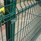 De pvc Met een laag bedekte Veiligheid Beschermde Omheining van het Netwerk van de Draad/de Omheining van de Tuin