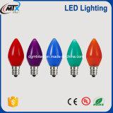 Ampoule électrique incandescente économiseuse d'énergie de l'éclairage LED e27 de ST45 1W