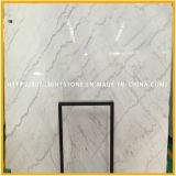 Hoch weiße Marmorpolierplatte, chinesischer Guangxi Weiß-Stein