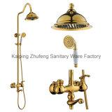 Timelssの生活様式の骨董品の真鍮の多機能Zf-43浴槽のシャワーセット