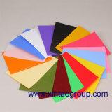 L'usine de Shenzhen Xintao décorent la diverse feuille reflétée acrylique colorée