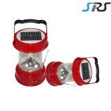 Lanterna solar com a fábrica solar recarregável portátil da lanterna SRS do diodo emissor de luz do OEM da alta qualidade do carregador do telefone móvel