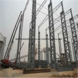 Costruzione chiara prefabbricata della struttura d'acciaio con l'alta altezza
