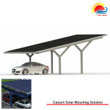 Модули PV крыши олова Низк-Обслуживания Corrugated устанавливая систему (MD0034)