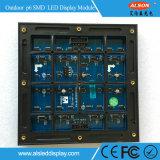 Cartelera eléctrica fija al aire libre a todo color de Digitaces LED de la instalación P6