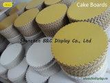 Kuchen-Bäckerei-Vorstände, Kuchen-Hartfaserplatte-Trommeln, Montag-Kuchen-Tellersegment mit Aluminiumpapier mit SGS (B&C-K082)