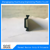 Tira 12mm-34mm da isolação térmica da poliamida da forma C