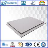 Los paneles de pared de aluminio del material compuesto