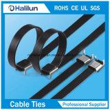 Flügel-Verschluss-Edelstahl-Kabelbinder der gute Qualitäts10*450mm in der Manufaktur