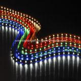 Tira flexível aprovada UL do diodo emissor de luz SMD1210 3528 60LEDs
