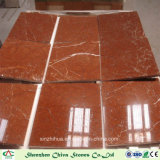 Rosso Alicante Marble Tiles Red Marble Slabs pour sol / carrelage mural / comptoirs