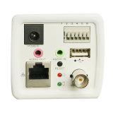 高品質1.0 MP H. 264小型ボックスホームIPの保安用カメラ
