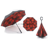 Зонтик нового конструкторского нововведения вверх ногами/перевернутый Sun