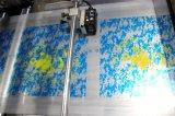 De dubbele van de Katoenen van de Keperstof van Kanten Machine Druk van Singelbanden Automatische 2+1colors