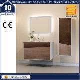 Armario de tocador de baño de MDF de melamina con espejo LED