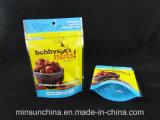プラスチック乾燥したフルーツの食糧パッキングのためのジッパー袋を立てなさい
