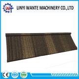 azulejos revestidos de madera del material para techos del metal de la piedra decorativa de 1340*420m m