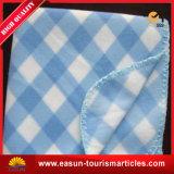 昇進の安い刺繍された航空会社の骨がある羊毛毛布