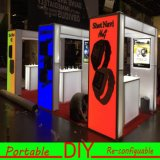 Custom Made Portable Modular Cosmetic Display Estande Padrão Stand Stand