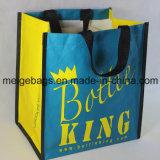 Sacchetto tessuto pp della bottiglia di vino, con Size&Design su ordinazione