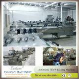 Doces duros semiautomáticos que envolvem a maquinaria