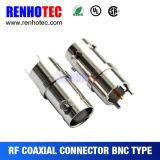 90 connecteur coaxial de soudure femelle micro du degré BNC Jack de /180
