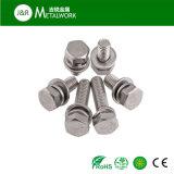 Boulon de tête Hex d'acier inoxydable de Ss304 Ss316 (DIN933 DIN931)