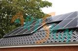 기와 지붕 태양 설치 시스템
