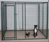 電流を通された溶接された金網犬の実行の塀のパネルか犬の犬小屋のパネル