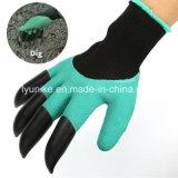Пластик ABS захваты сад перчатки для земляных работ и высевающего аппарата