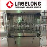 máquina de etiquetado de relleno del aceite lubricante de la botella que capsula 2L/3L/del aceite lubricante
