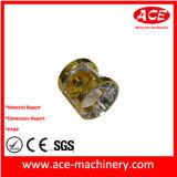Крепежные детали из алюминия Precision механизма со стороны