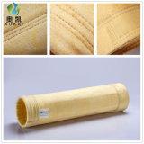 Filtre en polyester mélangé des sacs en fibre de verre