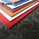 Ideabond astilla de poliéster de flexión de interiores Decoración de pared de aluminio Panel (AE-32E)
