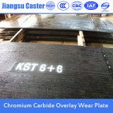 Placa de aço Placa de aço resistente a abrasão Carvão de cromo