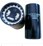 AC Start Capacitor CD60A eletrolítico, azul Shell