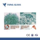 穴または磨かれた端またはシルクスクリーンの印刷を用いるゆとりまたは曇らされたか、または曲げられたか、または切り分けられた緩和されたガラス