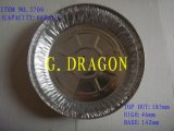 Contenitori del di alluminio, vaschette di cottura della Tabella di vapore (AFC-006)