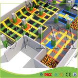 Equipamento galvanizado de tubulação de fitness Salto indoor Melhor trampolim grande